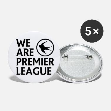 Premier Cardiff City FC - We Are Premier League (Black) - Small Buttons