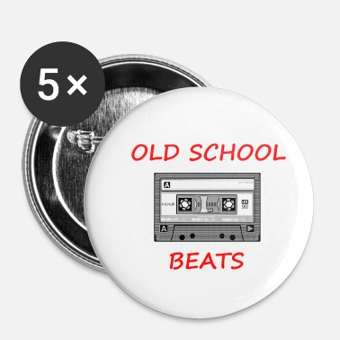 Old School Old School Beats - Badge petit 25 mm