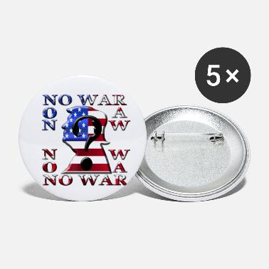 No War Amérique No War - Petits badges