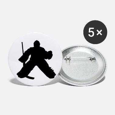 Hockey Goalie hockey goalie - Small Buttons