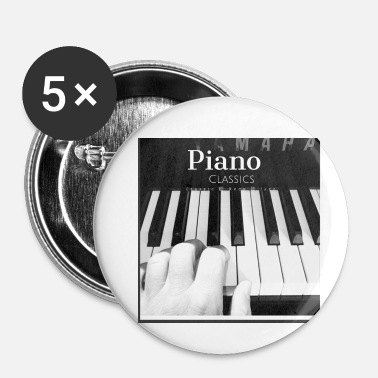 Piano piano - Små knappar 25 mm