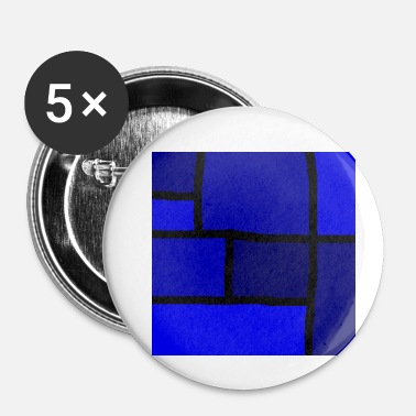 Inspiration Inspiration bleu - Badge petit 25 mm