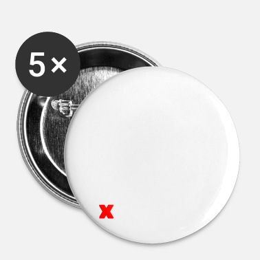 Staat staat - Buttons klein 25 mm (5-pack)