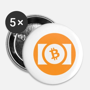 Cash Bitcoin Cash. - Badge petit 25 mm