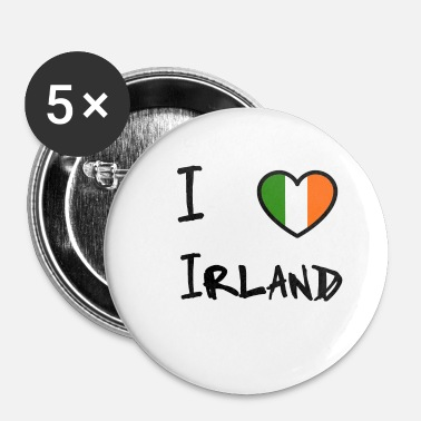 Irland Irland - Buttons/Badges lille, 25 mm