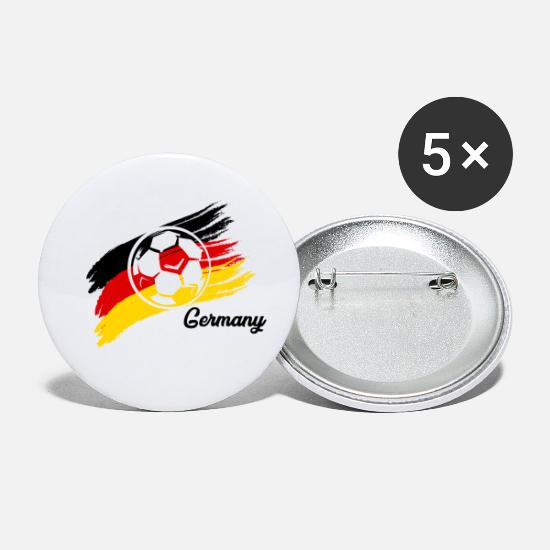 Team Buttons - Soccer Germany national team - Small Buttons white
