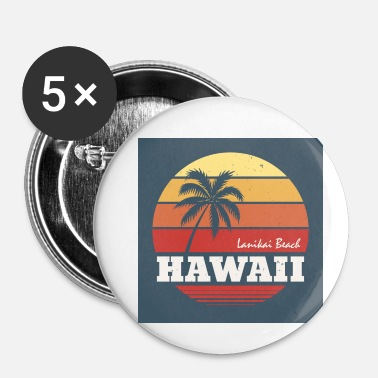 Hawaï Hawaï Vintage - Badge petit 25 mm