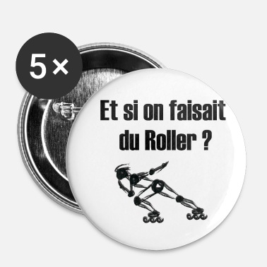 Roller roller - Badge petit 25 mm