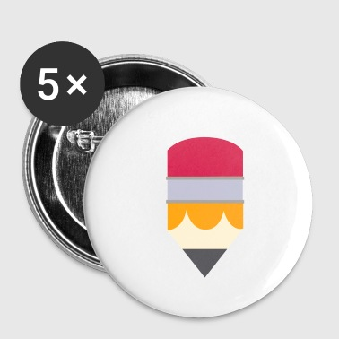 pencil - Buttons small 25 mm