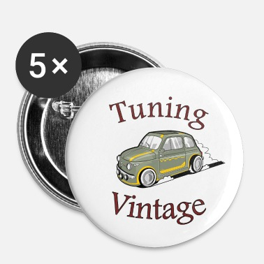 Tuning Tuning Vintage - Chapa pequeña 25 mm
