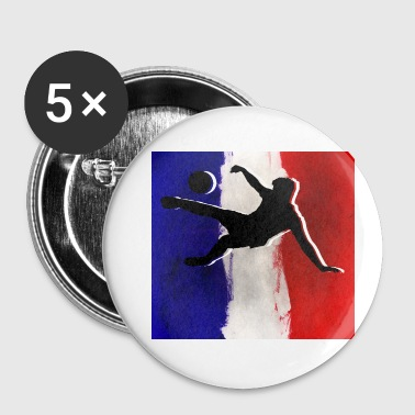 For football fans - Buttons small 25 mm