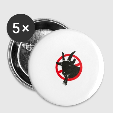 Interdit Rumzicken Interdit - Badge petit 25 mm