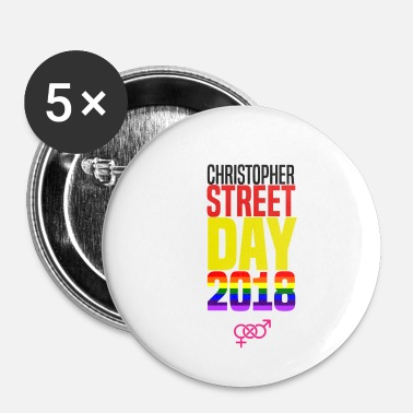 Christopher Street Day Christopher Street Day 2018 Gay Pride Geschenk - Buttons klein 25 mm