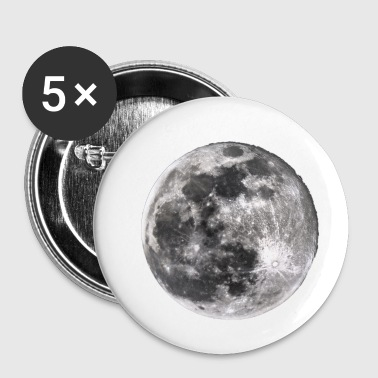 Lune lune - Badge petit 25 mm