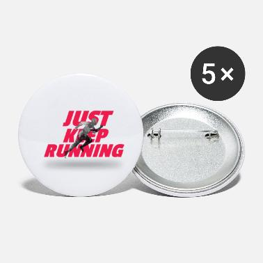 Running Just keep running - Small Buttons