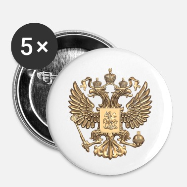 Russisk russisk - Buttons/Badges lille, 25 mm