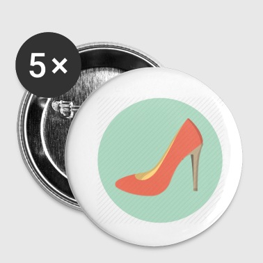Chaussure Chaussures - Badge petit 25 mm