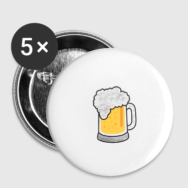 Junggesellenabschied - Beer me I'm getting married - Buttons klein 25 mm