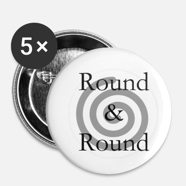 Rond rond - Badge petit 25 mm