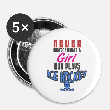 Hockey hockey - Buttons klein 25 mm