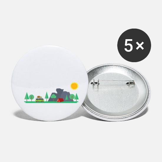 Yes We Can Buttons - Yes we camp - Small Buttons white