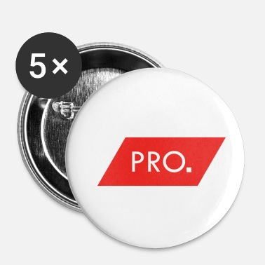 Pro PRO - Buttons klein 25 mm (5-pack)