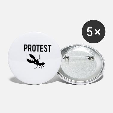 Protestant Protest Ant - Small Buttons
