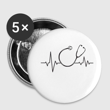 Heartbeat arts-arts - Buttons klein 25 mm