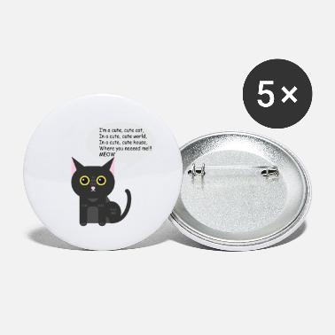 Cat Cat cat cat - Small Buttons