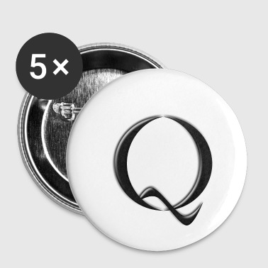 Qanon - Badge petit 25 mm