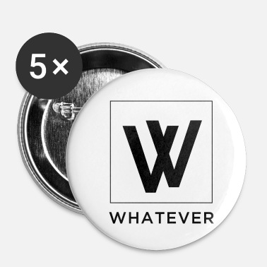 Officialbrands Whatever Official - Buttons small 1''/25 mm (5-pack)