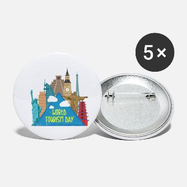 Tourism World Tourism Day - Small Buttons