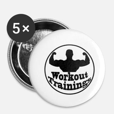 Training street workout trainings 16035 - Badge petit 25 mm