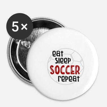 Soccer Ball Soccer Soccer Sport Ball Club Hobby Tor - Spilla piccola 25 mm