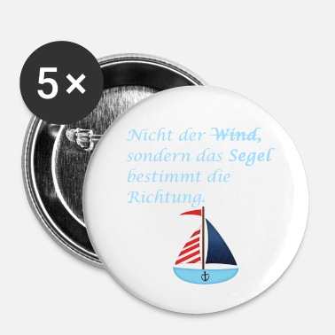 Wind wind - Buttons klein 25 mm (5-pack)
