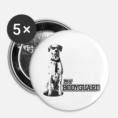 Bodyguard Garde du corps dalmate - Badge petit 25 mm