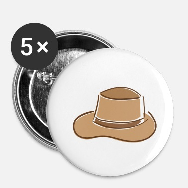 Jones Adventurer hat - Buttons small 25 mm