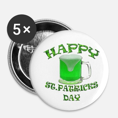 St Patricks Day St Patricks Day - Buttons klein 25 mm
