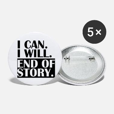 Story END OF STORY. - Small Buttons