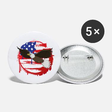 United States United States of America - Buttons klein