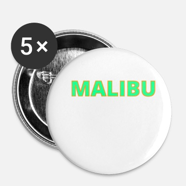 Malibu Idea regalo Malibu - Spilla piccola 25 mm