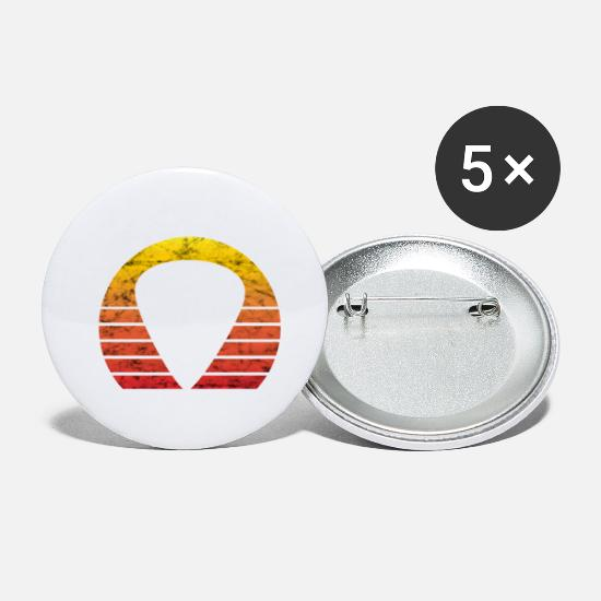 Birthday Buttons - Guitarist Bassist Plectrum Plectrum Retro Gift - Small Buttons white