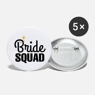 Junggesellinnenabschied Junggesellinnenabschied Braut Squad Diamant Ring - Buttons klein