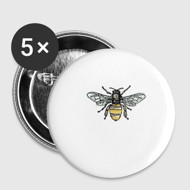 Bee wesp hornet honeycomb swag cadeau idee - Buttons klein 25 mm