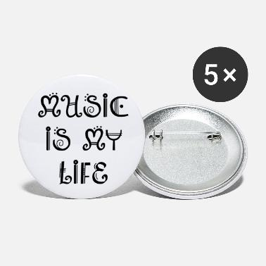 Music MUSIC - Small Buttons