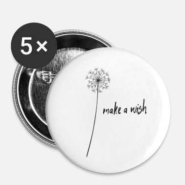 Wish make a wish wish filler - Buttons small 25 mm