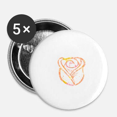 Stylish Rose Stylish - Buttons klein 25 mm (5-pack)