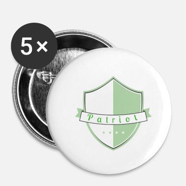 Patriote patriote - Badge petit 25 mm