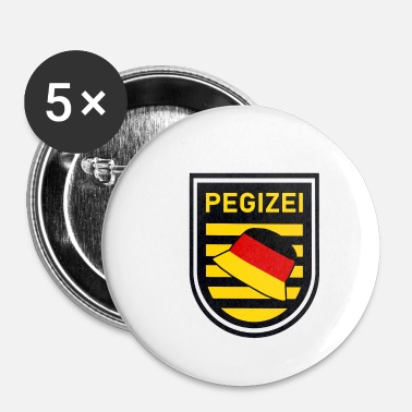 Pegida Pegizei - Badge petit 25 mm