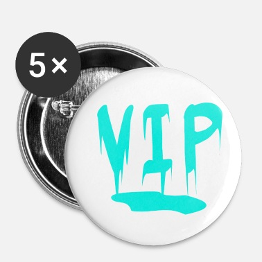 Vip VIP - Buttons/Badges lille, 25 mm (5-pack)